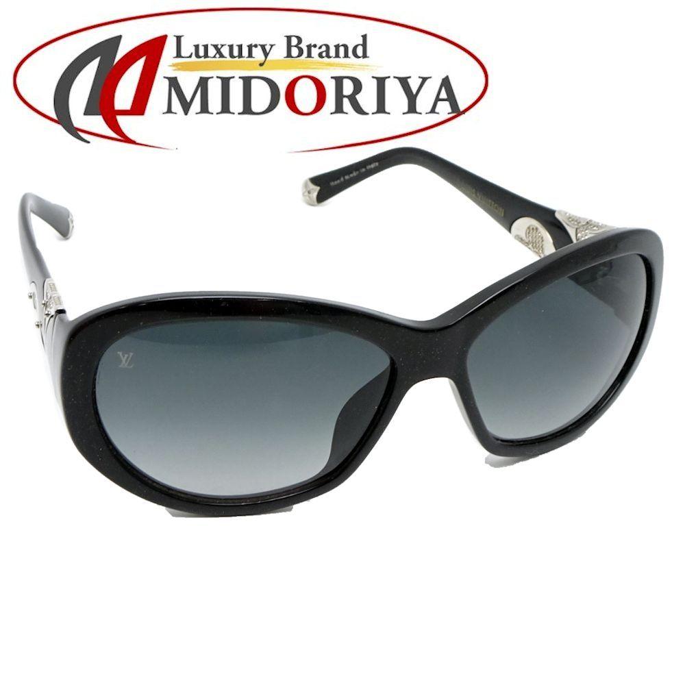 92475a30ca1 Louis Vuitton LOUIS VUITTON sunglasses iris PM 57 □ 14 black Z0333E  042147