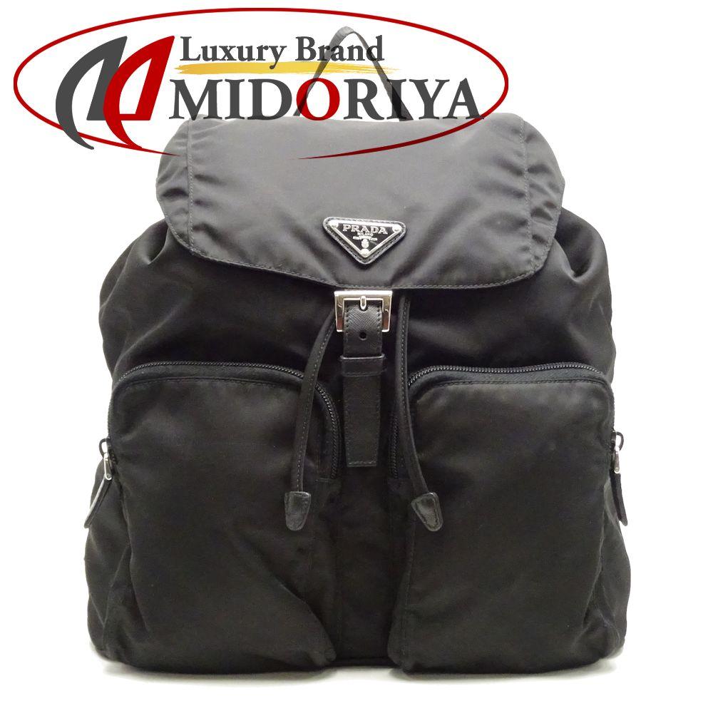 c73e0abe1604 Prada PRADA 1BZ005 backpack rucksack nylon NERO black outlet /051335 ...