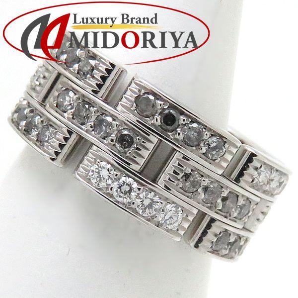 カルティエ Cartier マイヨンパンテールリング フルダイヤモンド 750WG #49 8.5号 指輪/098416【中古】
