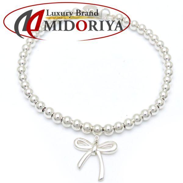 Tiffany Bow Tie Bracelet Ribbon Motif Sv925 098472