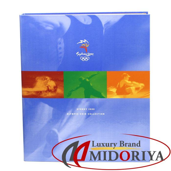 2000年 シドニーオリンピック 記念硬貨 5ドル 28枚 バインダー付き ☆未使用 コインコレクション /043196