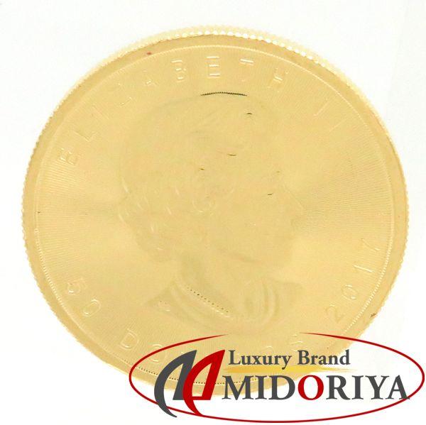 【最大5千円OFFクーポン】カナダメープルリーフ金貨 1ozコイン K24 ゴールド 31グラム コレクターズアイテム/78287【中古】