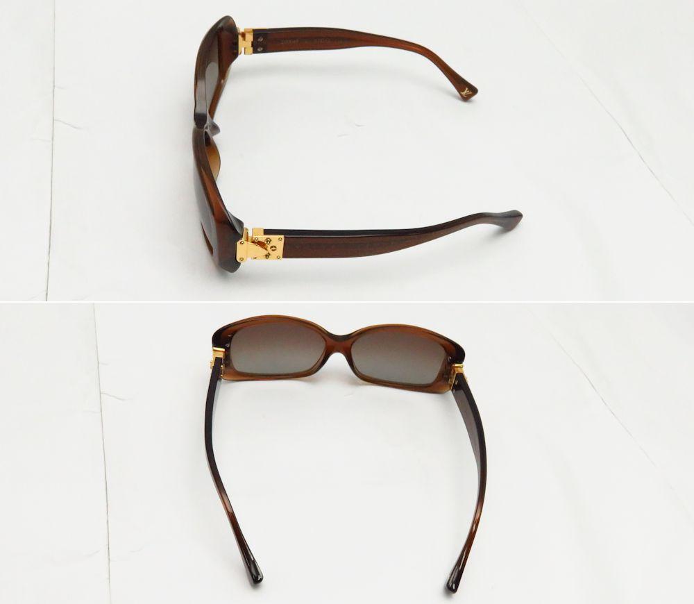Authentic LOUIS VUITTON Soupcon GM Sunglasses Z0004E Mielfonse/48764