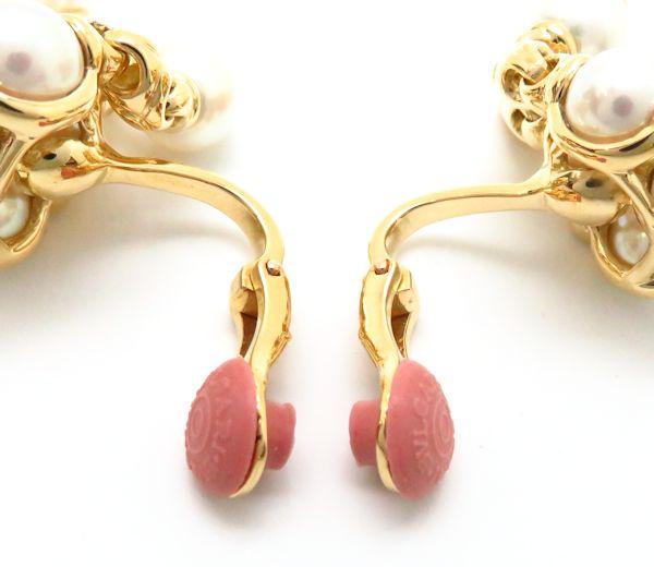 寶格麗寶格麗 pasodopio 750 YG 珍珠耳環 / 93905 18 k 黃金色珍珠