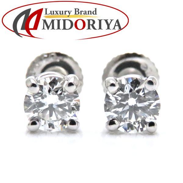 2b6ec58dd Pawn shop MIDORIYA PHASE: Tiffany Tiffany & Co. Stud bolt pierced earrings  diamond 0.31ctx2 Pt950 platinum one drop diamond pierced earrings /099077  ...