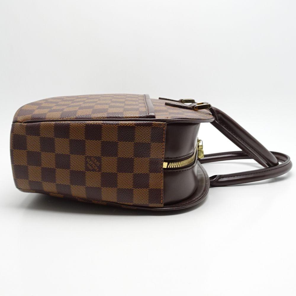 41fa0284ff3e Authentic LOUIS VUITTON Damier Sarria Horizontal Handbag N51282 Ebene   052569 FREE SHIPPING