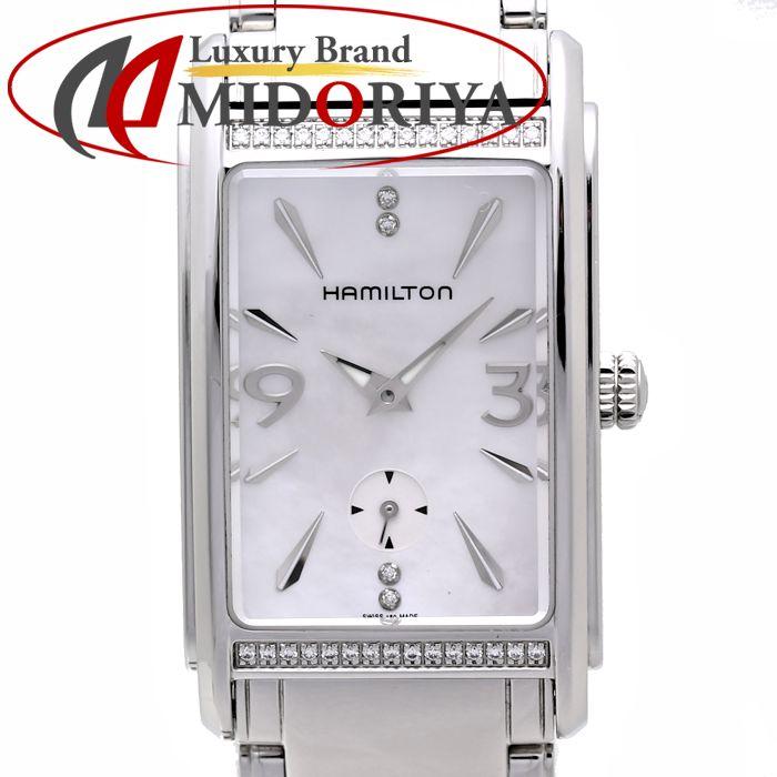 ハミルトン Hamilton アードモア Ardmore シェル ベゼルダイヤモンド H11491115 レディース /35737 【中古】 腕時計