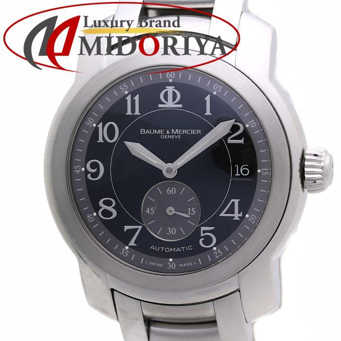 ボーム&メルシエ BAUME&MERCIER ケープランド MVO45221 メンズ 自動巻き 黒文字盤 /35786【中古】 腕時計