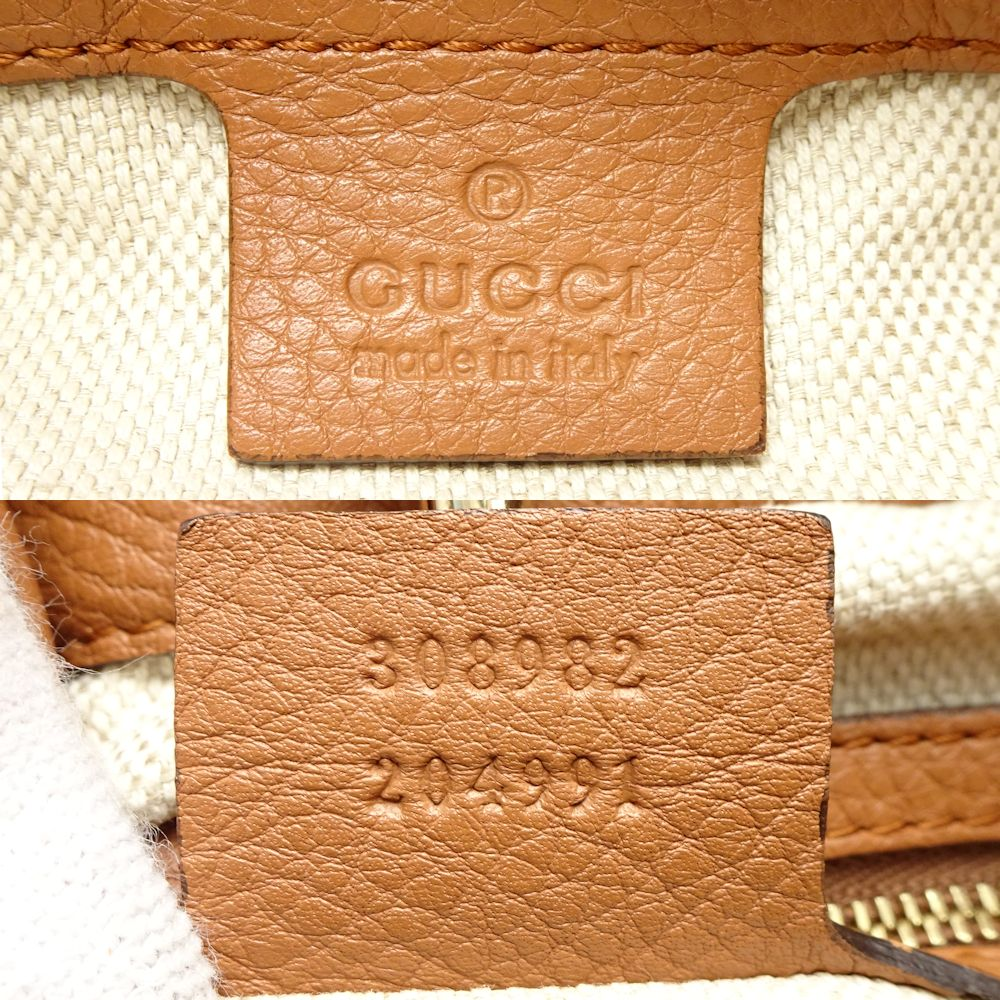 ae378da5bb6c Pawn shop MIDORIYA PHASE: Gucci GUCCI 308982 Soho chain Thoth calf ...