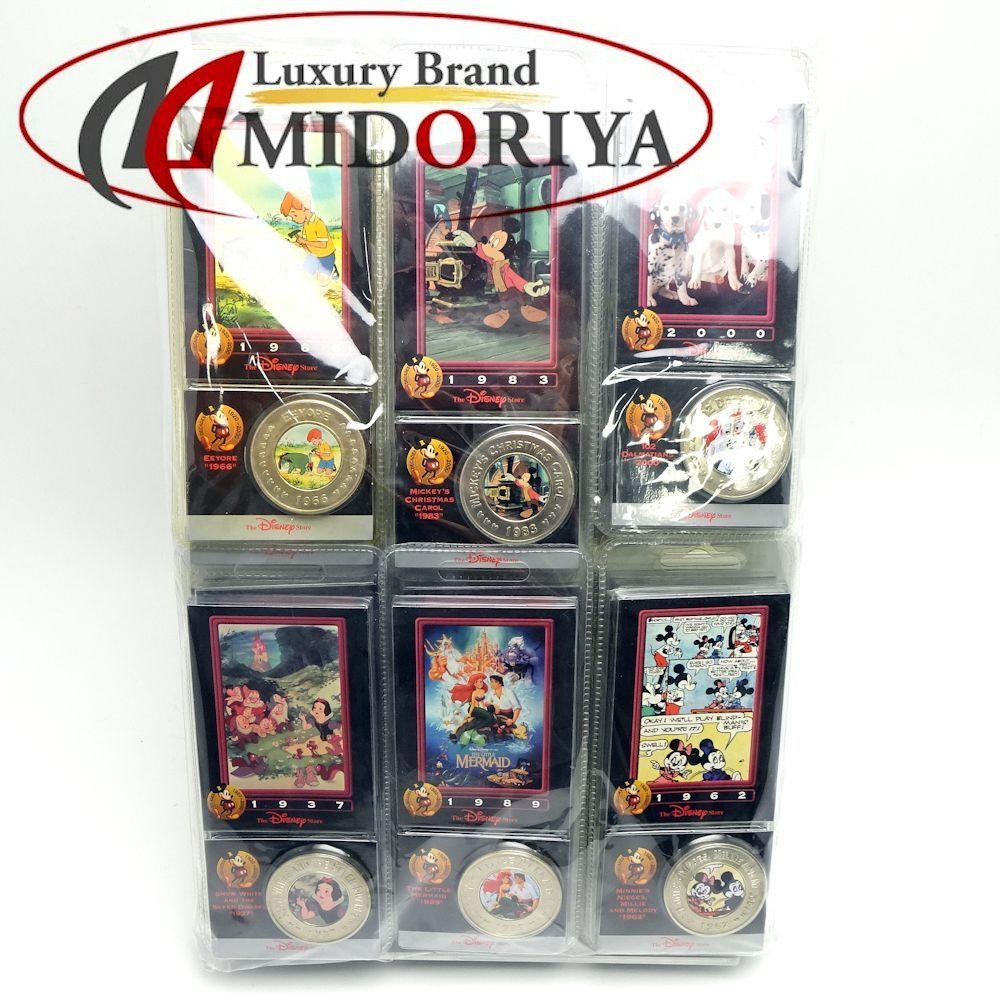 ディズニー Disney コイン 34個 ☆未使用 /044192 コレクション マニア 【中古】P_10