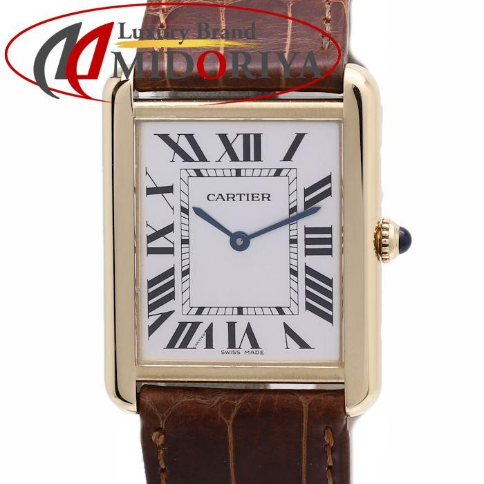 カルティエ Cartier タンクソロ LM W1018855 メンズ クォーツ /35994 【中古】【外装磨き仕上げ済み】 腕時計