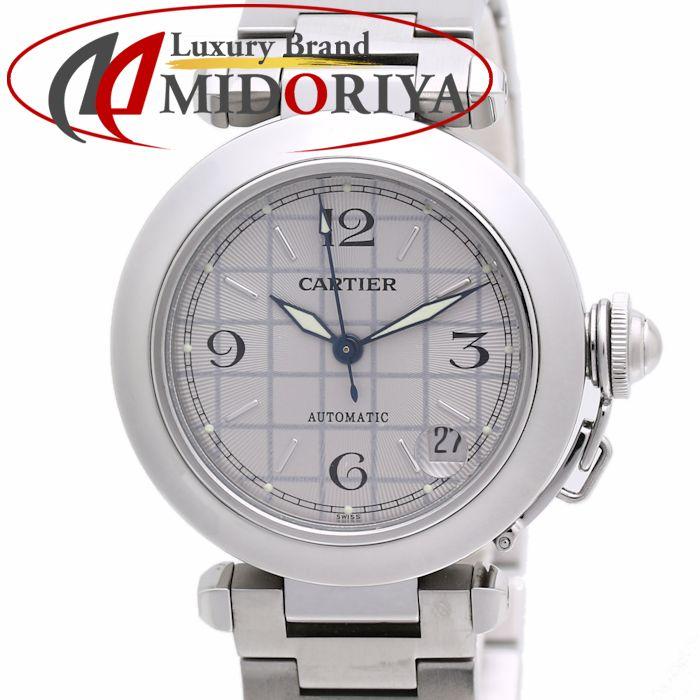 カルティエ CARTIER パシャC W31023M7 ボーイズ シルバーグレー ユニセックス /36005 【中古】 腕時計