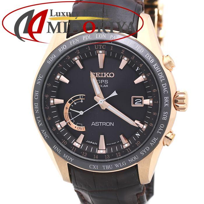 セイコー SEIKO アストロン ソーラー GPS 衛星電波時計 メンズ チタン SBXB096 8X22-0AG0-2 /36020 【中古】 腕時計