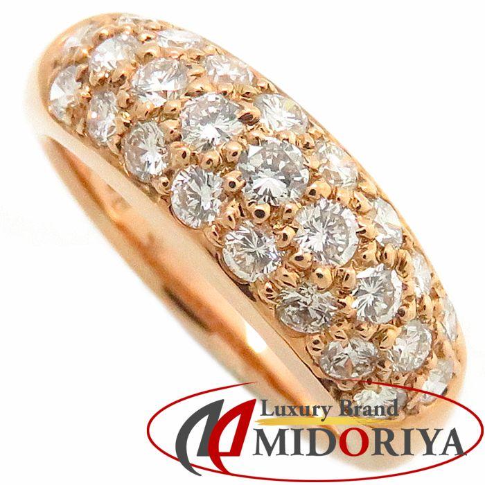 ダイヤモンドリング K18PG ダイヤモンド0.68ct 5号 18金ピンクゴールド 指輪 レディース ジュエリー/63322【中古】P_10
