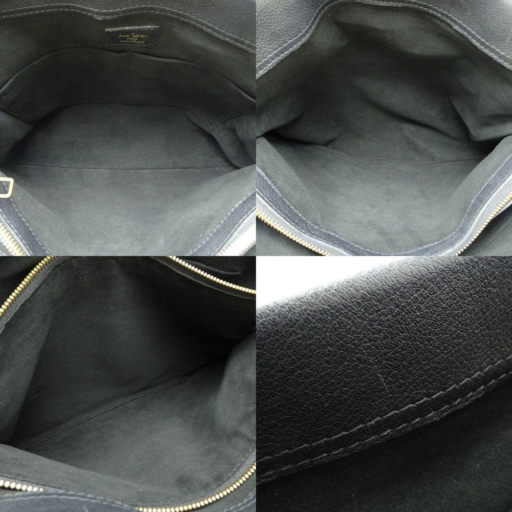 6ca40308d7bd Authentic LOUIS VUITTON Monogram Pallas Shopper Shoulder Tote Bag M51198  Noir  053346 FREE SHIPPING