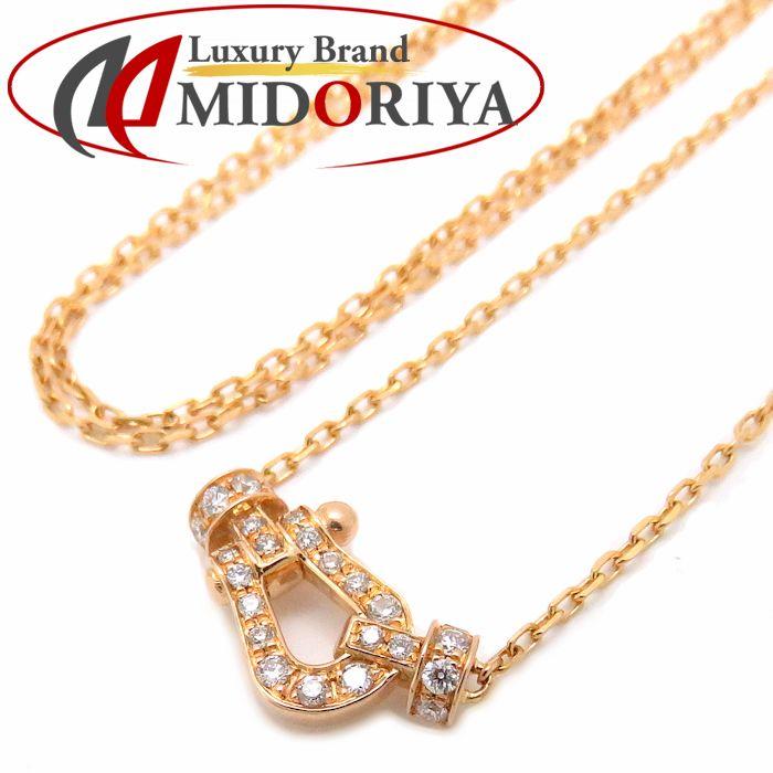 フレッド FRED フォース10ミニ ネックレス ダイヤモンド K18YG 7B0190 750 イエローゴールド ペンダント/091039【中古】