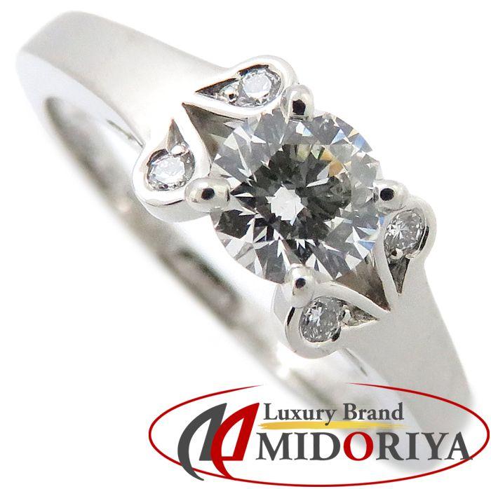 カルティエ Cartier バレリーナ リング ダイヤモンド0.36ct Pt950 #49 8.5号 N4198100 プラチナ 指輪/099791【中古】