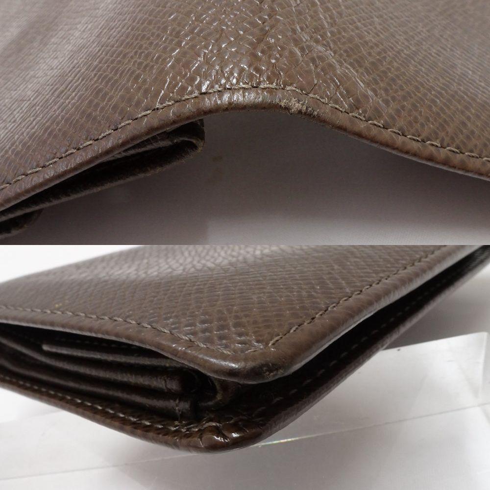 35adac9588f8 ルイヴィトンLOUISVUITTON財布二つ折りタイガポルトビエ3カルトクレディグリズリブラウンM30458/044423
