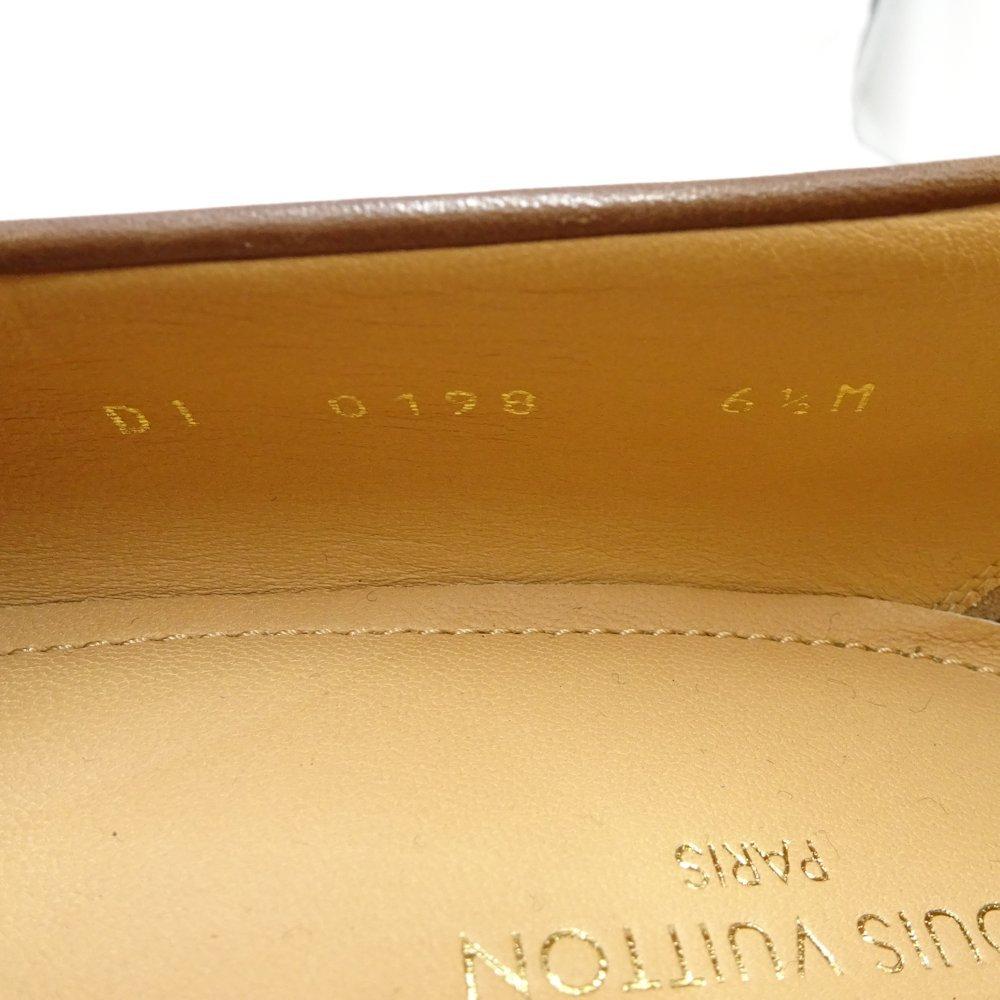 356d7ef3ecbf Louis Vuitton LOUIS VUITTON loafer size 6 1 2 Saint-Germain calf-leather tea  ☆ unused 1A4OE9  044537 shoes