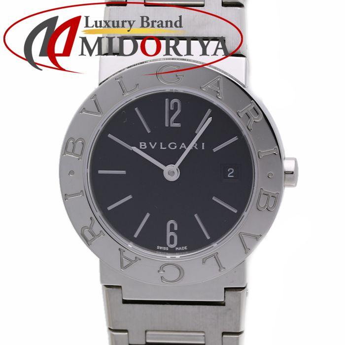 ブルガリ BVLGARI ブルガリブルガリ BB26SS ブラック文字盤 クオーツ レディース /36032 【中古】 腕時計