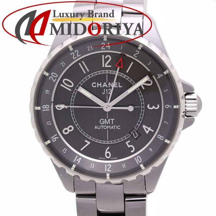 CHANEL シャネル J12 クロマティック GMT H3099 41mm メンズ オートマ グレー文字盤 /36144 【中古】 腕時計