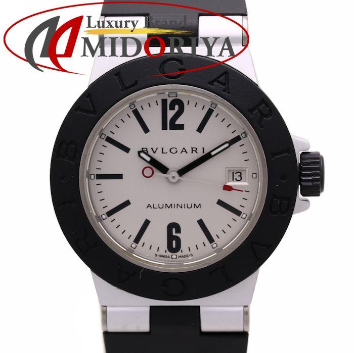 【最大3万円OFFクーポン】ブルガリ BVLGARI AL29TAVD アルミニウム アルミニウム/ラバー レディース /36177 【中古】 腕時計