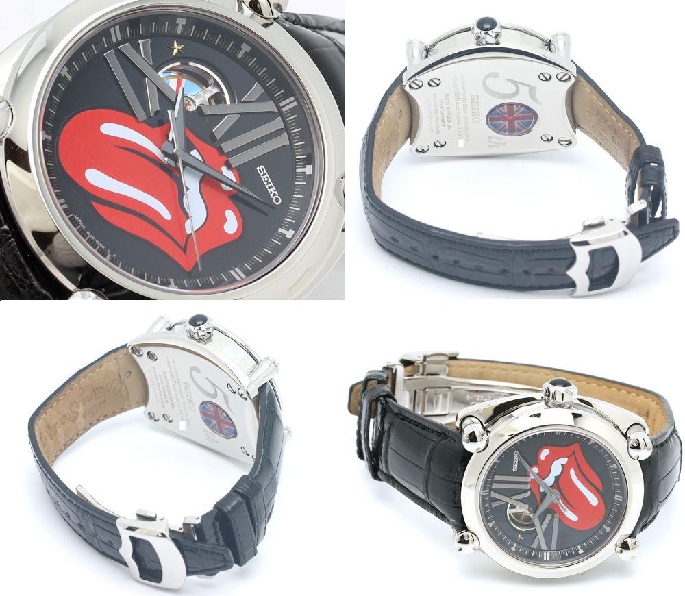 Seiko SEIKO Galante rolling stones 50th anniversary model men's SBLL017/33552 watch