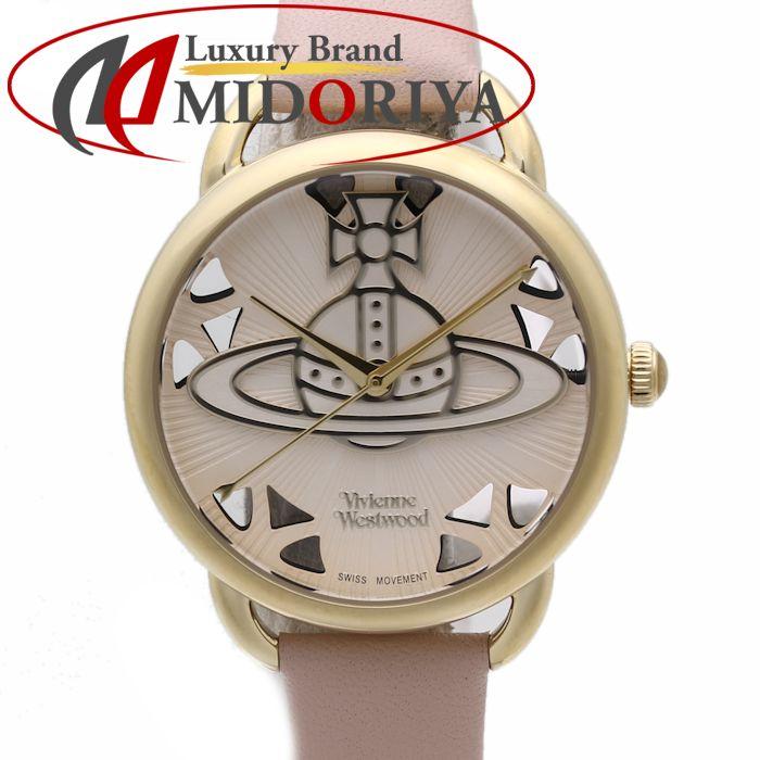 ヴィヴィアンウエストウッド VivienneWestwood リーデンホール VV163BGPK レディース ピンク /36279 【中古】 腕時計