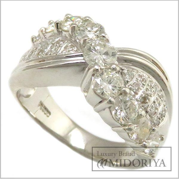 【緊急!大幅値下げ】指輪 ダイヤモンド1.50ct リング 16号 Pt900/62909【中古】【クリーニング済】