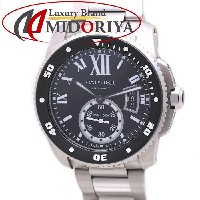 カルティエ カリブル ドゥ カルティエ ダイバー W7100057 メンズ Cartier /36369 【中古】 腕時計
