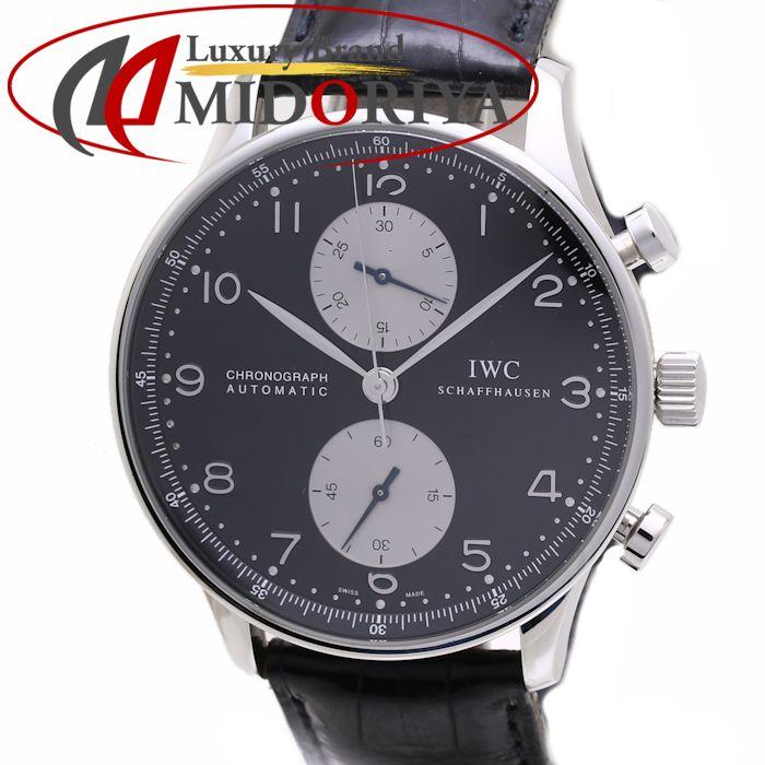 \大幅値下げ/IWC ポルトギーゼ クロノグラフ IW371404 メンズ 自動巻き /36393 【中古】 腕時計