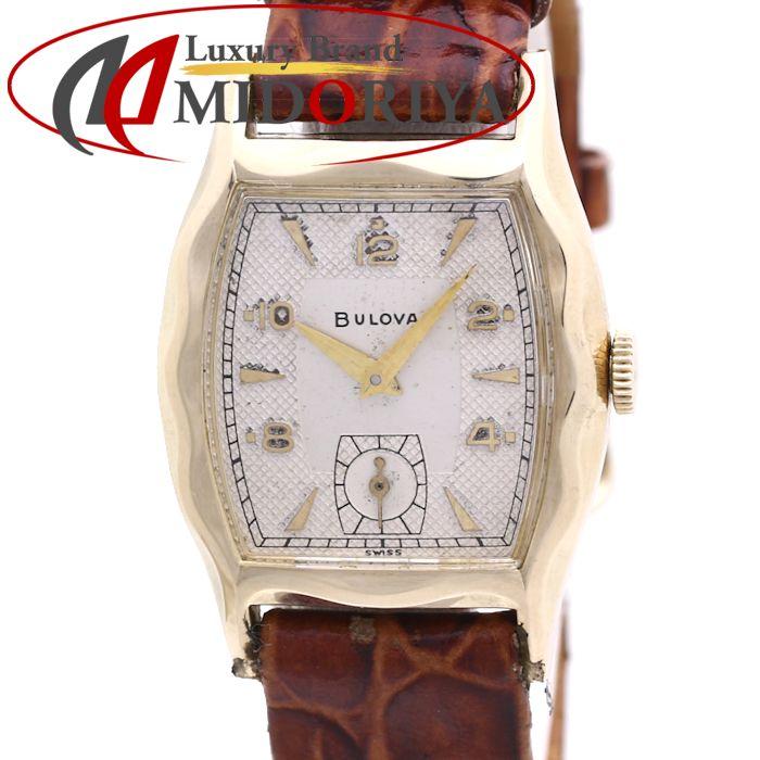 ブローバ BULOVA アンティーク レディース 手巻き /36446 【中古】 腕時計