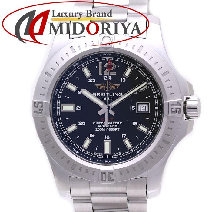 ブライトリング メンズ コルト A1738811/BD44 A17388 ブラック 自動巻き /36496 【中古】 腕時計