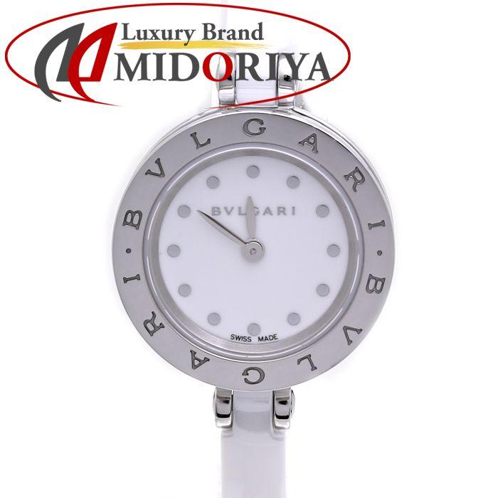 ブルガリ ビーゼロ1 BZ23WSCC.M BZ23SC ホワイト BVLGARI B-Zero1 レディース /36527 【中古】 腕時計