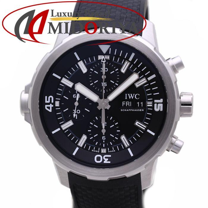 IWC アクアタイマー クロノ IW376803 ラバー メンズ /36541 【中古】 腕時計 インターナショナルウォッチカンパニー