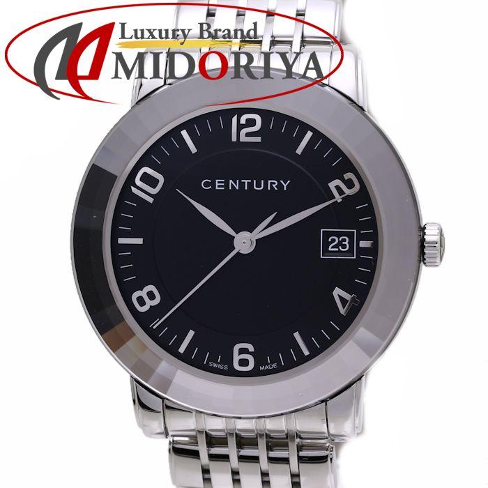 センチュリー CENTURY エレガンス 648.7.O.50i.12.SF メンズ クオーツ /36574 【中古】 腕時計