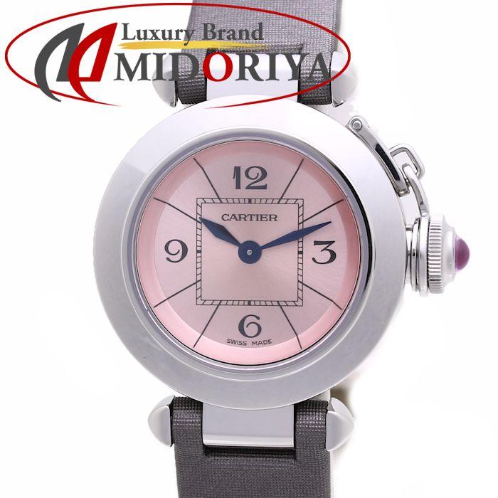 カルティエ Cartier ミスパシャ W3140026 ピンク レディース /36614 【未使用】 腕時計