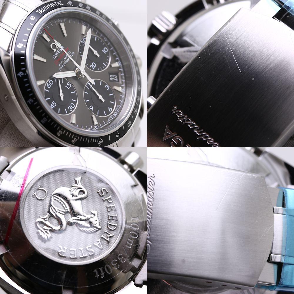最大3万円OFF オメガ OMEGA スピードマスター メンズ デイト 自動巻き クロノグラフ グレー 323 30 40 40 06 00136797腕時計VpSUMz