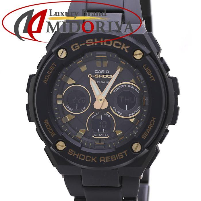 G-SHOCK Gショック CASIO カシオ Gスティール G-STEEL メンズ GST-W300BD /36837 【中古】 腕時計