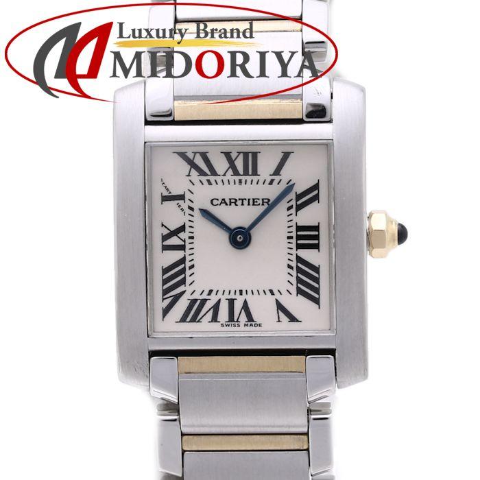 Cartier カルティエ タンクフランセーズ SM W51007Q4 レディース SS/YG /36877 【中古】 腕時計