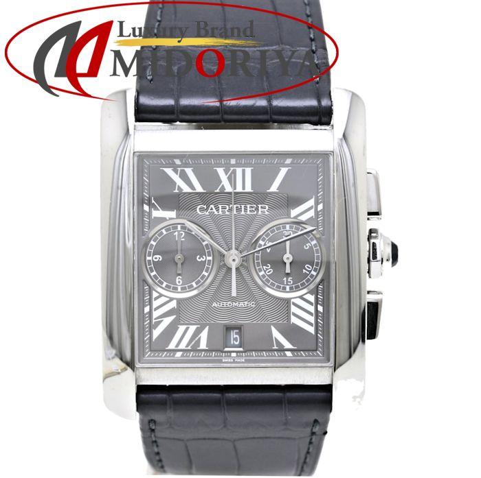 カルティエ CARTIER タンクMC クロノグラフ W5330008 メンズ 自動巻き /36899 【中古】 腕時計