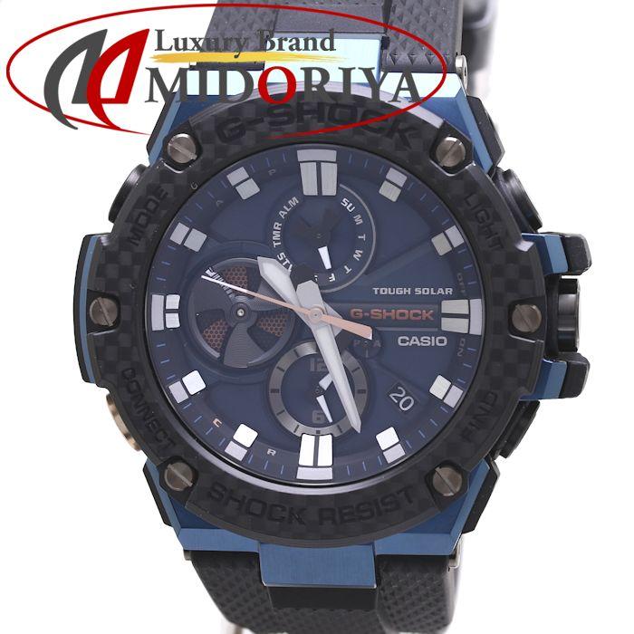 カシオ Gショック Gスチール CASIO メンズ タフソーラー GST-B100XB-2AJF /36904 【未使用】 腕時計