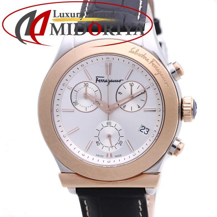 フェラガモ 1898 メンズ Salvatore Ferragamo FH6040016 ブラック /36915 【未使用】 腕時計