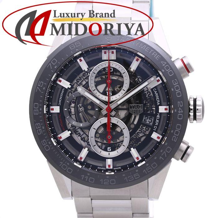 タグホイヤー カレラ ホイヤー01 クロノグラフ メンズ TAG Heuer CAR201V.BA0714 /36924 【中古】 腕時計