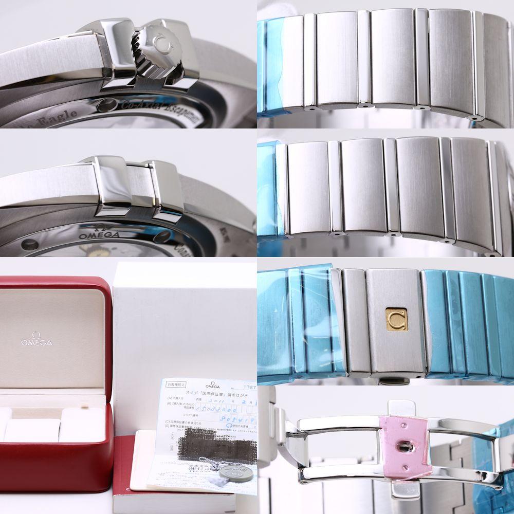 最大3万円OFF オメガ 1503 30 コンステレーション コーアクシャル ダブルイーグル 自動巻き メンズ36938腕時計KJcT31lF