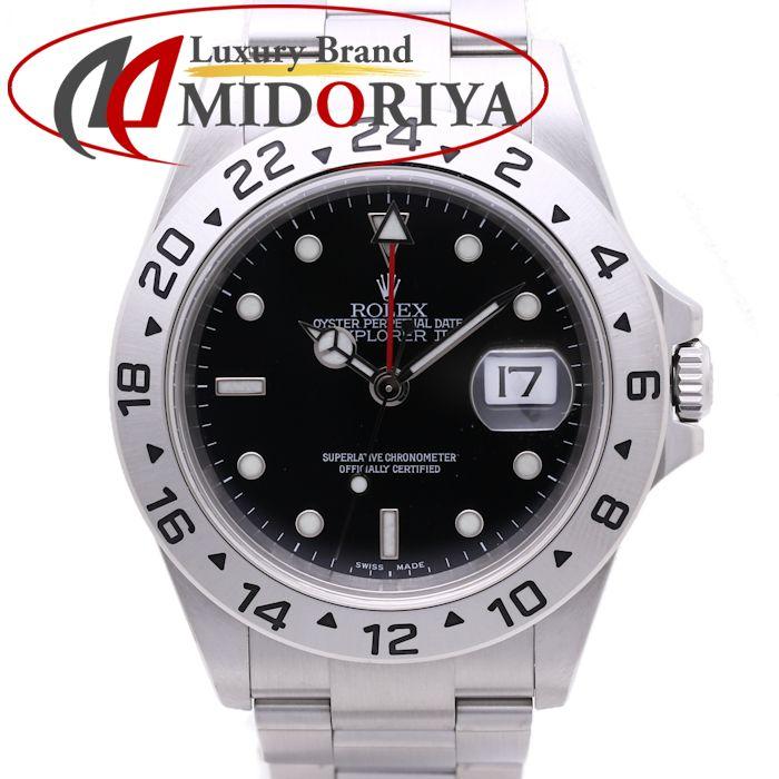 ロレックス エクスプローラー2 16570 ブラック D番 メンズ /36952 【中古】 腕時計