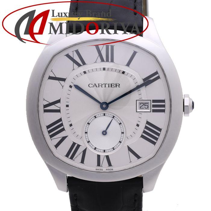 カルティエ WSNM0004 ドライブ ドゥ カルティエ SS レザー 自動巻き メンズ /36953 【中古】 腕時計