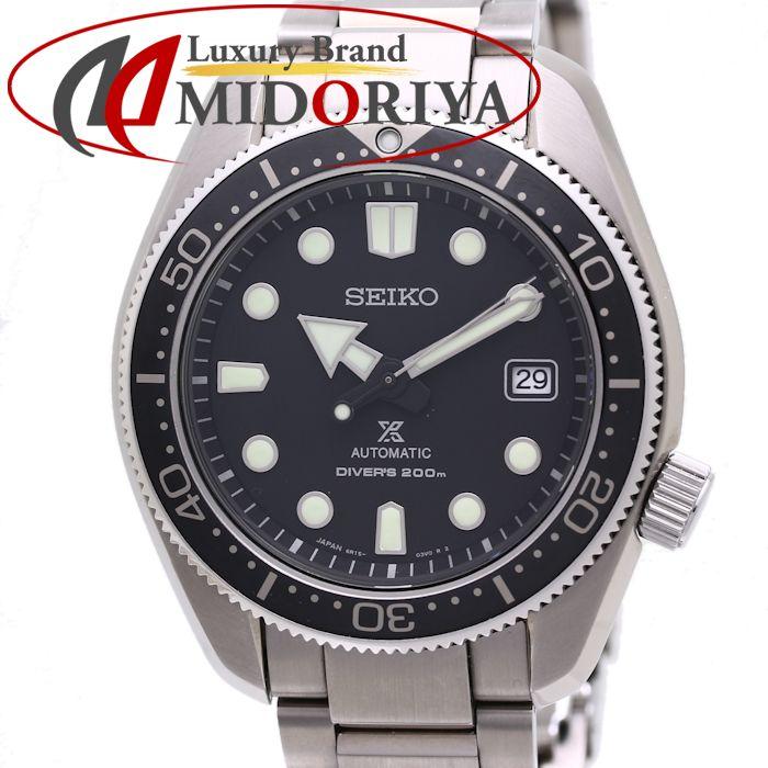セイコー プロスペックス ダイバースキューバ メカニカル 自動巻き メンズ SBDC061 6R15-04G0 /36960 【中古】 腕時計