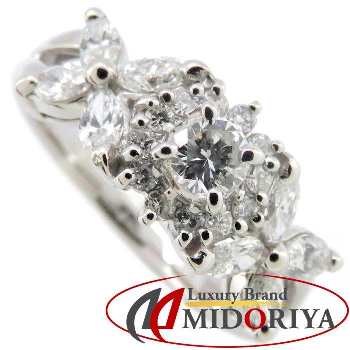 ダイヤモンドリング Pt900 ダイヤモンド0.75ct 10号 プラチナ 指輪 レディース ジュエリー /63772 【中古】