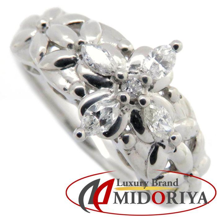ダイヤモンドリング Pt999 ダイヤモンド0.20ct 12号 プラチナ 指輪 レディース ジュエリー /63920 【中古】